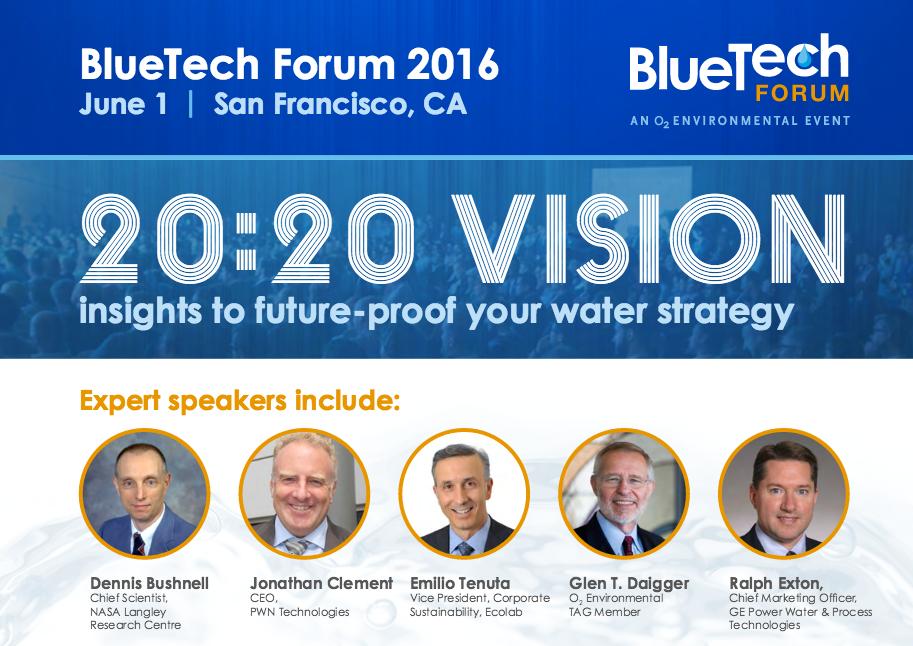 BlueTech Forum 2016: 20:20 Vision